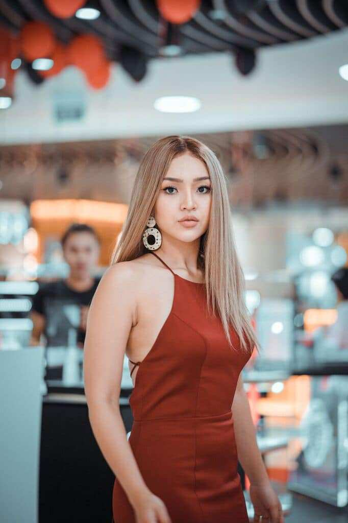 Beauty Blogger Nay Chi Oo - Beautiful Photos Collection